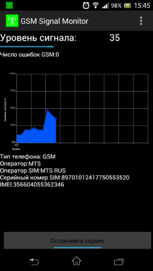 GSM Monitor для Android